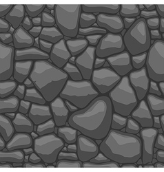 Stone seamless vector image vector image