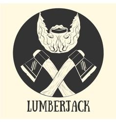 Lumberjack pattern vector
