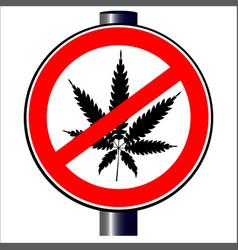 No weed vector