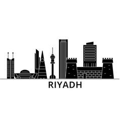 Riyadh architecture city skyline travel vector