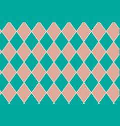 Seamless pattern geometric quadrangle vector