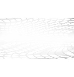 white and gray abstract perspective background vector image