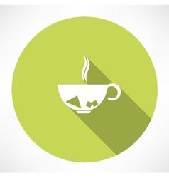 Cup of tea vector image vector image