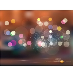 Abstract backgroundholiday evening city vector