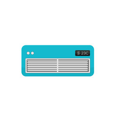 air cooler symbol - air conditioner - electric vector image