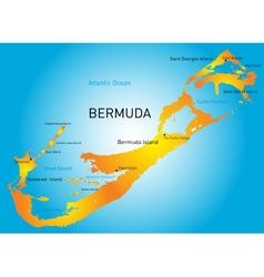 Bermuda vector image