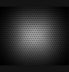 black abstract background with metal background vector image