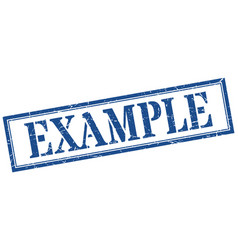 Example stamp example square grunge sign example vector