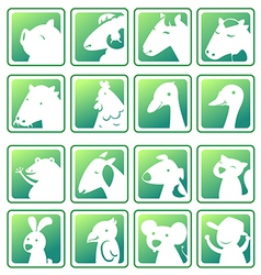 icon farm vector image vector image