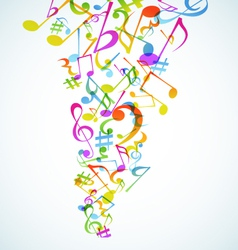 Music baskground vector