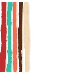 Rainbow Lines Background vector image