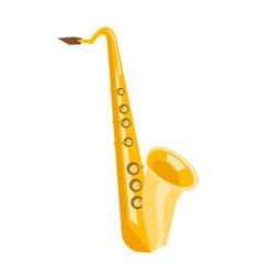 Saxophone cartoon vector