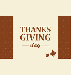 thanksgiving day background collection stock vector image