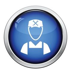 Car mechanic icon vector image vector image