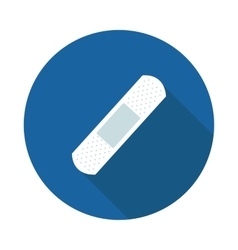 flat icon is a band-aid vector image