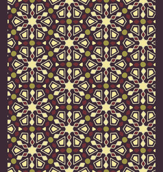 African ethnic seamless pattern vector