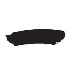 brush strokes set hand drawn grunge texture vector image