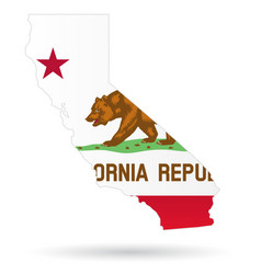 california state flag vector image