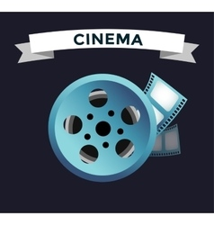 Film cinema technology vector image vector image
