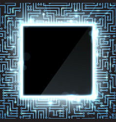Hi tech background vector