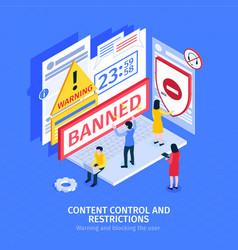 Internet blocking composition vector
