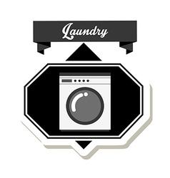 Laundry service design vector