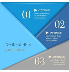 Overlapping progress background vector image