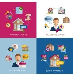Real estate set vector