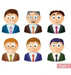 avatars vector image vector image