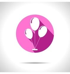 balloons icon Eps10 vector image