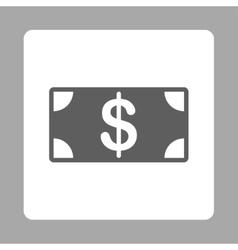 Banknote icon vector image
