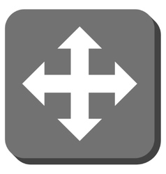 Expand Rounded Square Icon vector