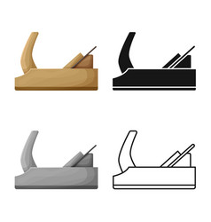 Jointer and tool sign vector