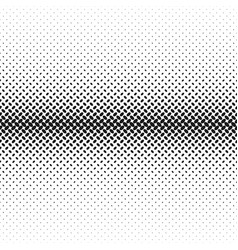 monochrome halftone diagonal ellipse pattern vector image