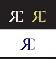 Rc logo vector