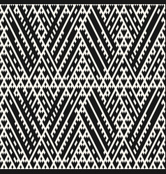 tribal seamless pattern ethnic ornament vector image