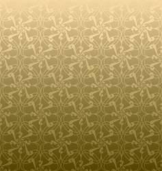 golden swirl linear vector image vector image