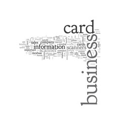 Are business card scanners advantageous vector