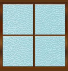 Bathroom window vector