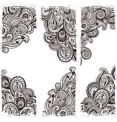 Beautiful Indian paisley vector image