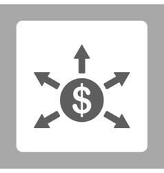 Cashout icon vector