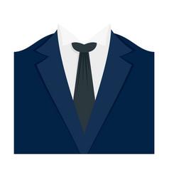 Dinner jacket icon flat style vector