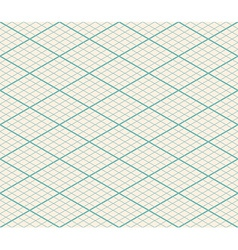 Isometric seamless grid background - thirty degree vector