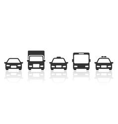 land transportation icon vector image
