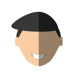 People face businessman icon image vector