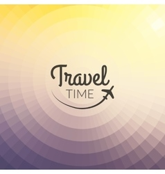 summer travel design blurred pixelate background vector image