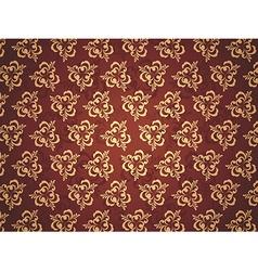 Pattern Golden vector image
