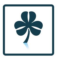 Shamrock icon vector image