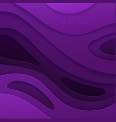 abstract paper cut background vector image