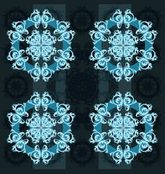 Abstract pattern antique ornament vector